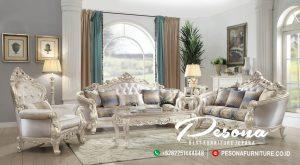 Model Sofa Tamu mewah Klassik Antique