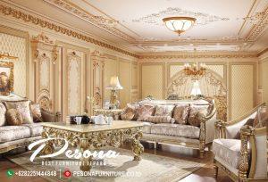 Set Sofa Tamu Mewah Ukir Antik