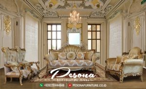 Sofa Tamu Set Mewah Klasik Alexcandra
