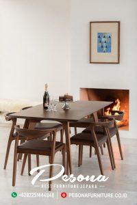 Set Meja Ruang Makan Cafe Modern